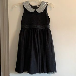Girls black party/holiday dress